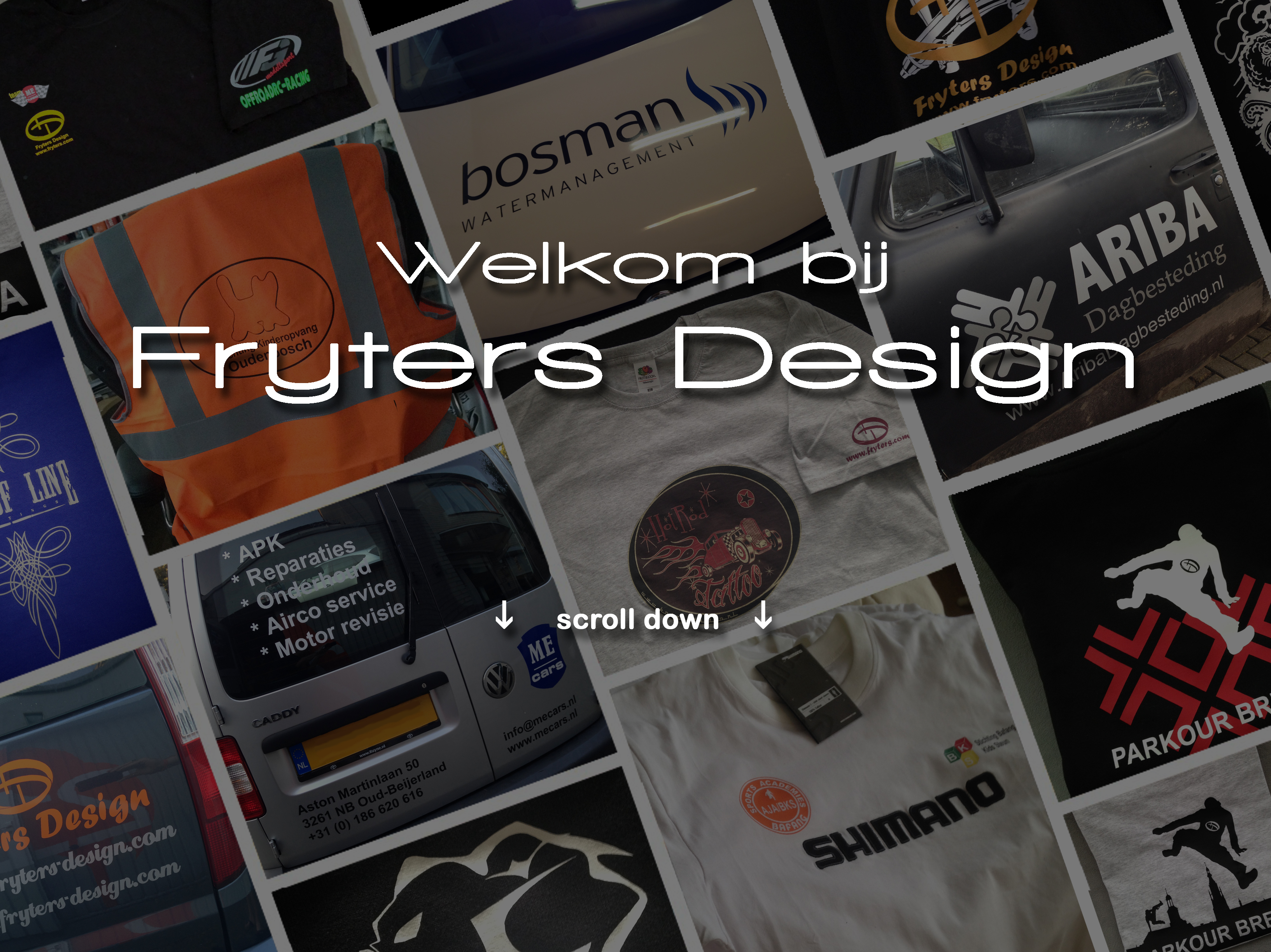 Fryters Design header